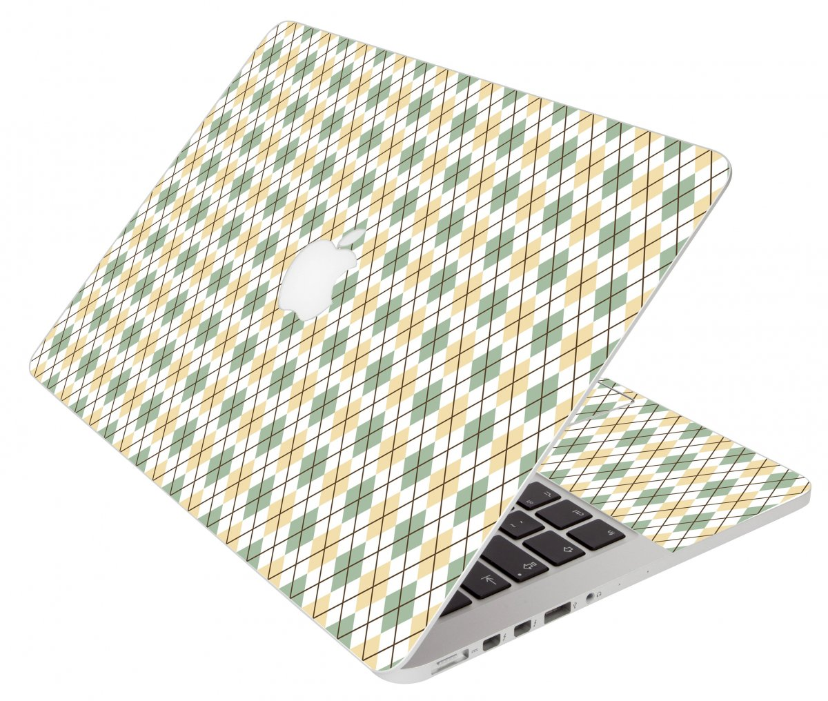 Argyle Apple Macbook Air 11 A1370 Laptop Skin