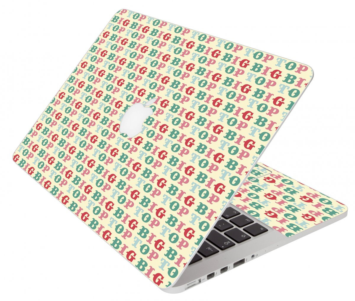 Bigtop Apple Macbook Air 11 A1370 Laptop Skin