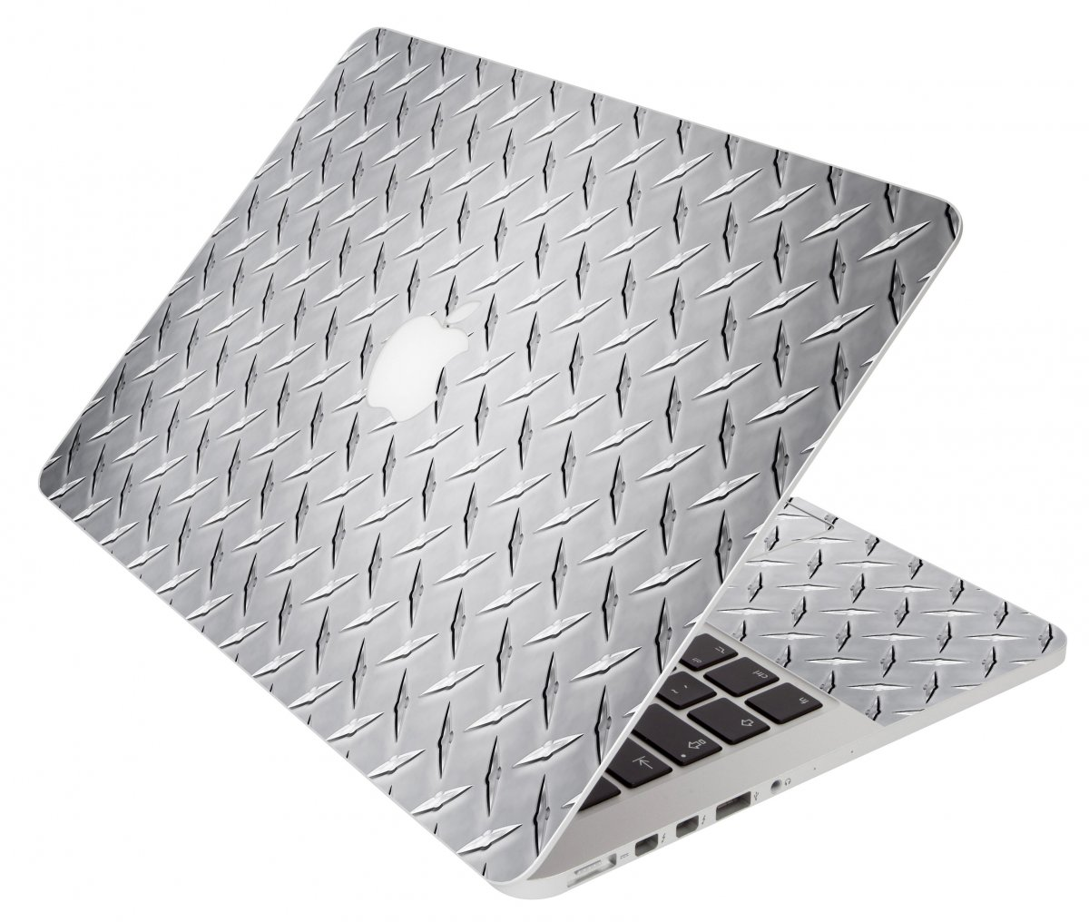 Diamond Plate Apple Macbook Air 11 A1370 Laptop Skin