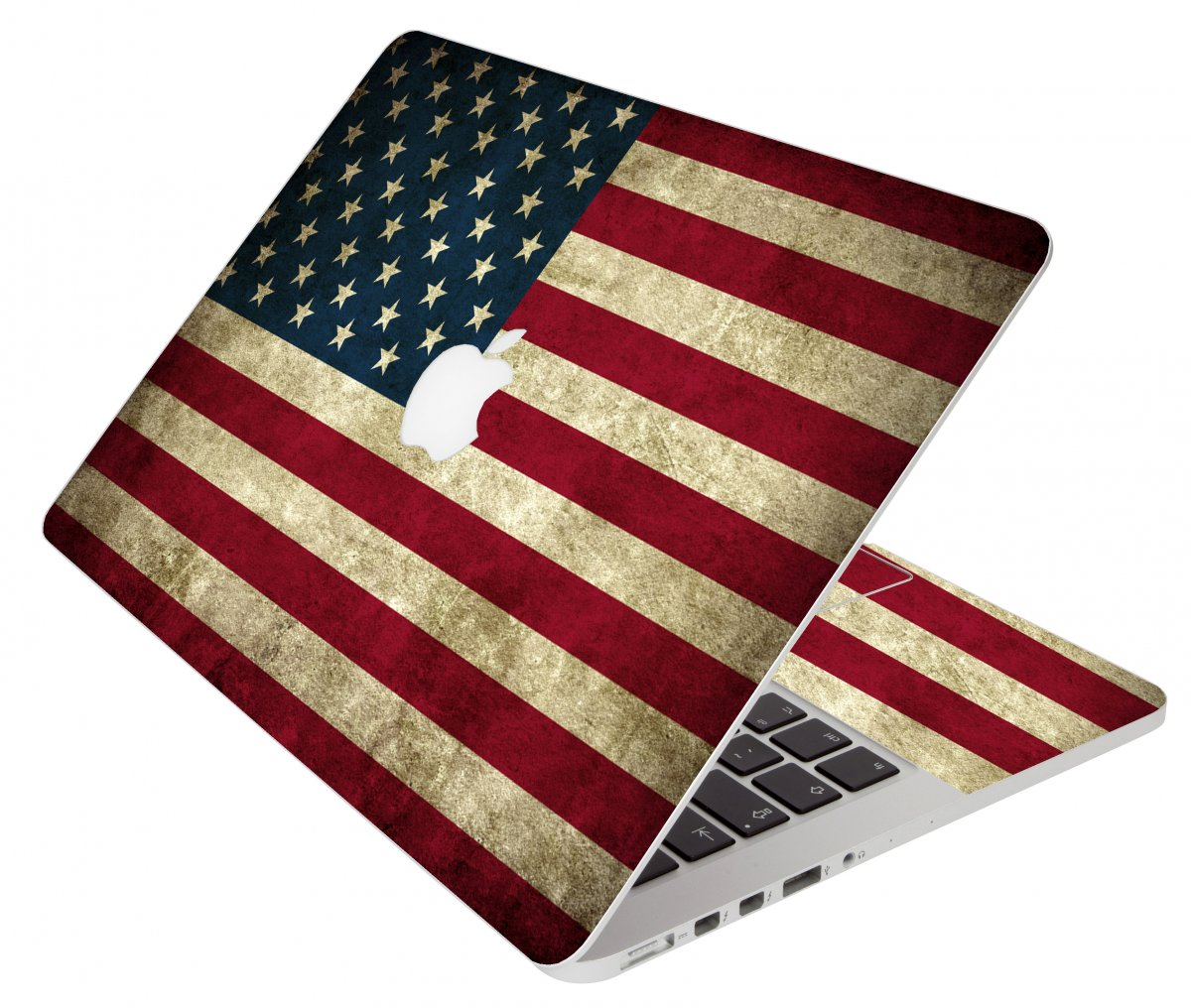 American Flag Apple Macbook Original 13 A1181 Laptop Skin