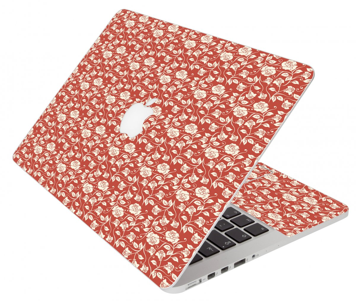 Pink Roses Apple Macbook Pro 17 A1297 Laptop Skin