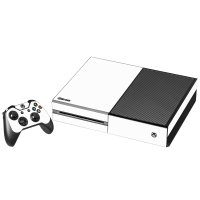 WHITE XBOX ONE GAME CONSOLE SKIN