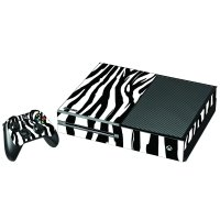 ZEBRA XBOX ONE GAME CONSOLE SKIN
