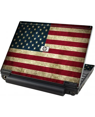 American Flag HP Compaq 2510P Laptop Skin