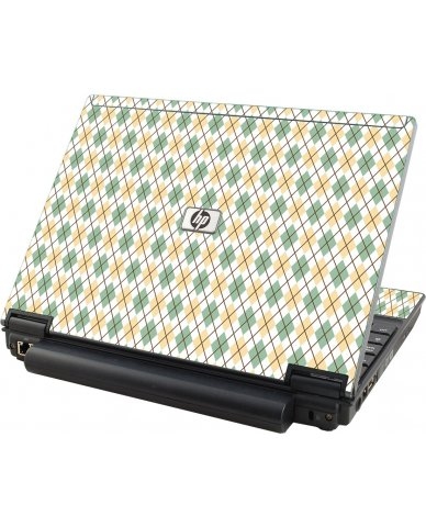 Argyle HP Compaq 2510P Laptop Skin