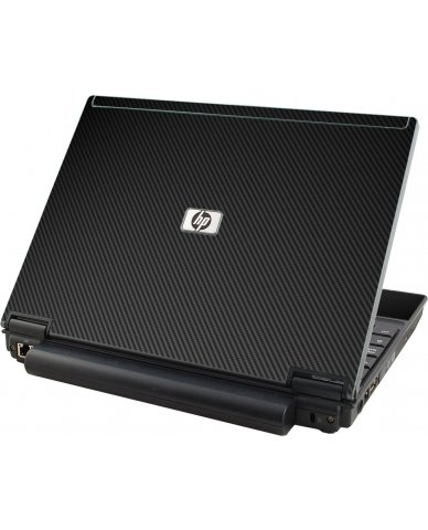 Black Carbon Fiber HP Compaq 2510P Laptop Skin