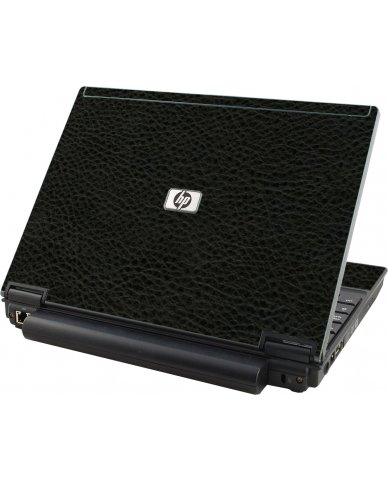 Black Leather HP Compaq 2510P Laptop Skin