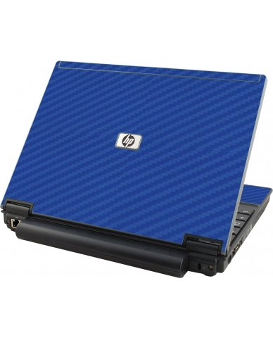 Blue Carbon Fiber HP Compaq 2510P Laptop Skin