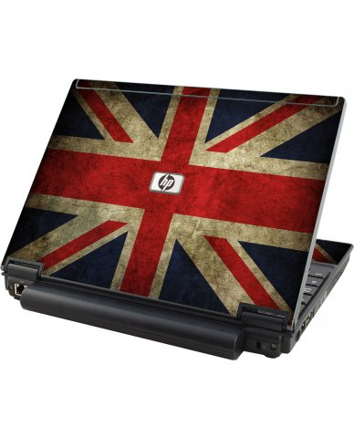 British Flag HP Compaq 2510P Laptop Skin