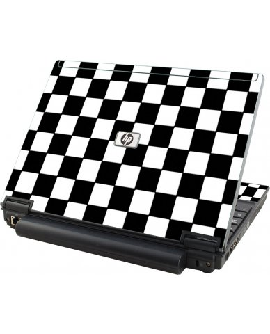 Checkered HP Compaq 2510P Laptop Skin