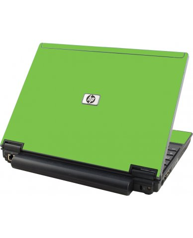Green HP Compaq 2510P Laptop Skin