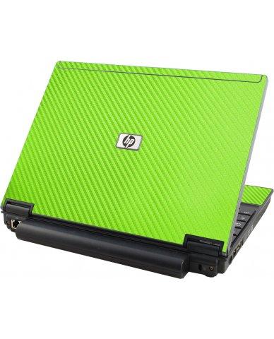 Green Carbon Fiber HP Compaq 2510P Laptop Skin