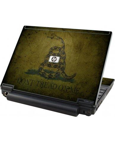 Green Dont Tread Flag HP Compaq 2510P Laptop Skin