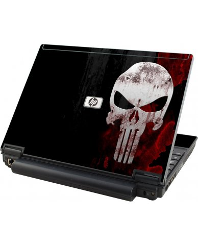 Punisher Skull HP Compaq 2510P Laptop Skin