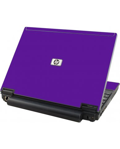 Purple HP Compaq 2510P Laptop Skin