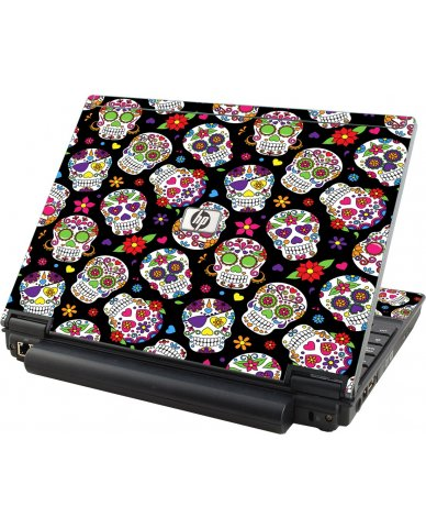 Sugar Skulls HP Compaq 2510P Laptop Skin