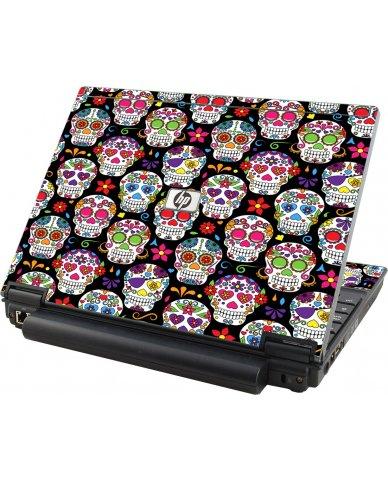 Sugar Skulls Seven HP Compaq 2510P Laptop Skin