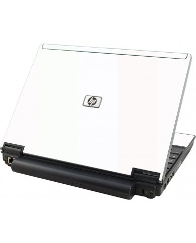 White HP Compaq 2510P Laptop Skin