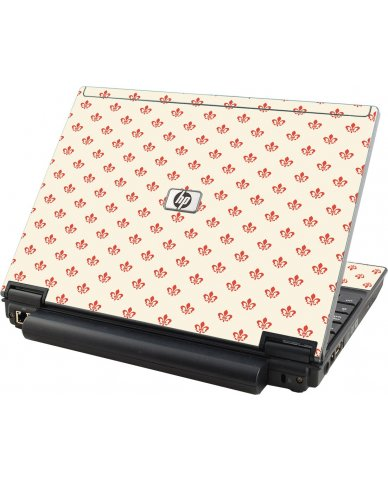 White And Pink Versailles  HP Compaq 2510P Laptop Skin