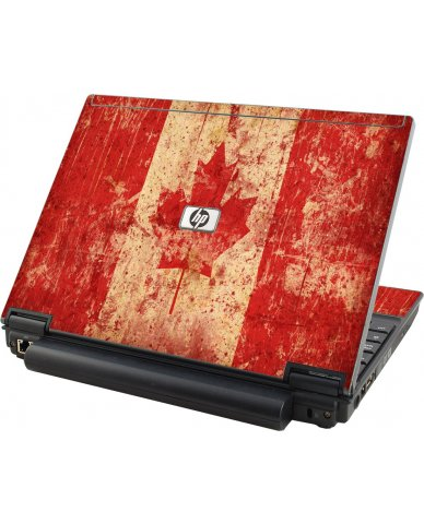Canada Flag HP Elitebook 2530P Laptop Skin