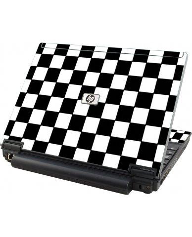 Checkered HP Elitebook 2530P Laptop Skin