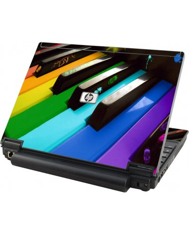 Colorful Piano HP Elitebook 2530P Laptop Skin