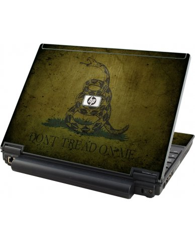 Green Dont Tread Flag HP Elitebook 2530P Laptop Skin