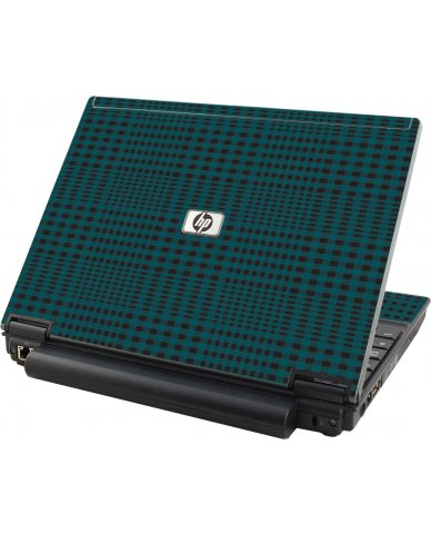Green Flannel HP Elitebook 2530P Laptop Skin