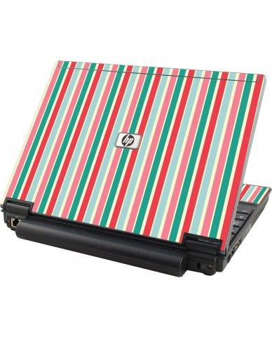 Gum Stripes HP Elitebook 2530P Laptop Skin