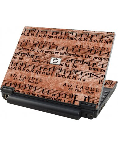 Latin Sheet Music HP Elitebook 2530P Laptop Skin