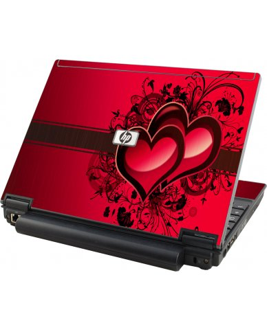 Love Heart HP Elitebook 2530P Laptop Skin