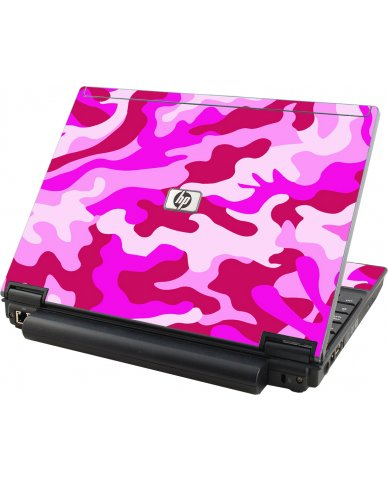 Pink Camo HP Elitebook 2530P Laptop Skin