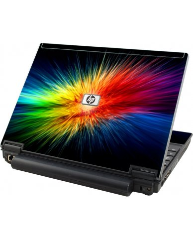 Rainbow Burst HP Elitebook 2530P Laptop Skin