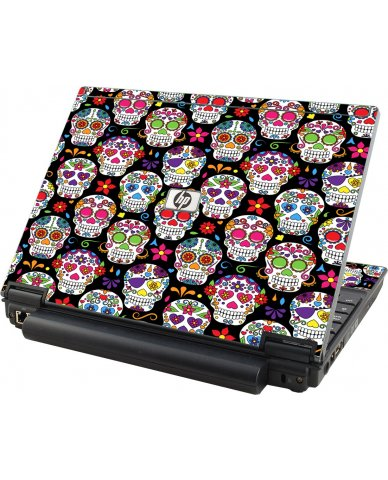 Sugar Skulls Seven HP Elitebook 2530P Laptop Skin