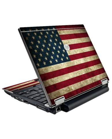 American Flag HP Elitebook 2540P Laptop Skin