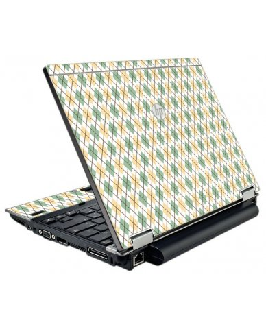 Argyle HP EliteBook 2540P Laptop Skin