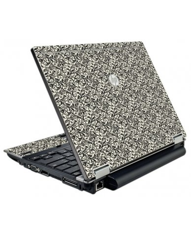 Black Versailles HP EliteBook 2540P Laptop Skin