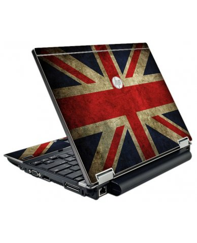 British Flag HP Elitebook 2540P Laptop Skin