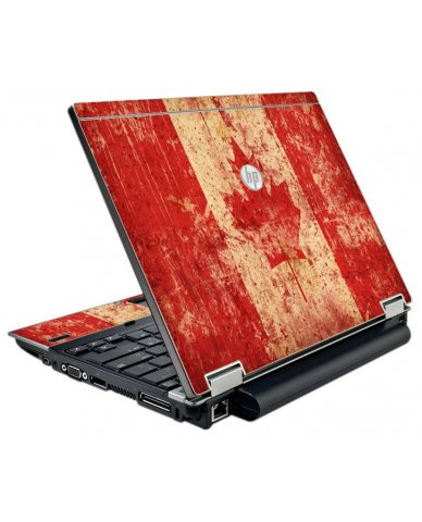 Canada Flag HP Elitebook 2540P Laptop Skin