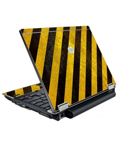 Caution Stripes HP EliteBook 2540P Laptop Skin