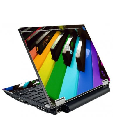Colorful Piano HP EliteBook 2540P Laptop Skin