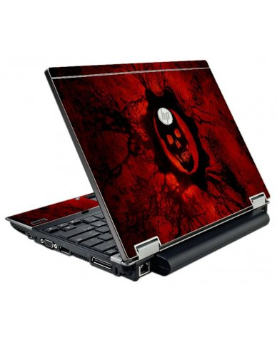 Dark Skull HP EliteBook 2540P Laptop Skin