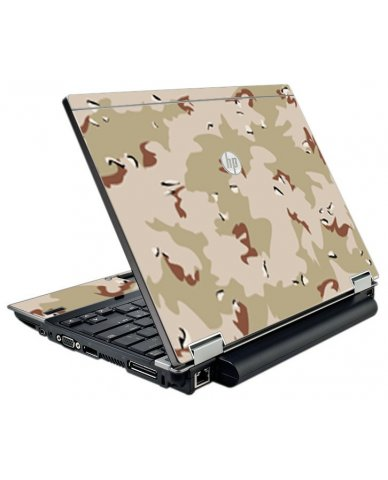 Desert Camo HP EliteBook 2540P Laptop Skin