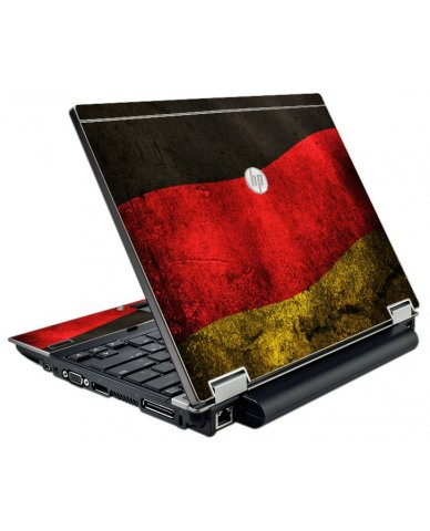 German Flag HP Elitebook 2540P Laptop Skin