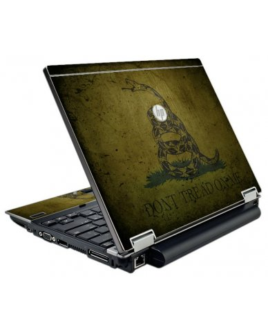 Green Dont Tread Flag HP EliteBook 2540P Laptop Skin