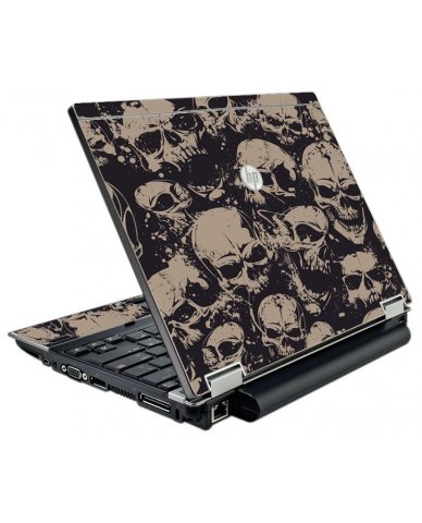Grunge Skulls HP EliteBook 2540P Laptop Skin