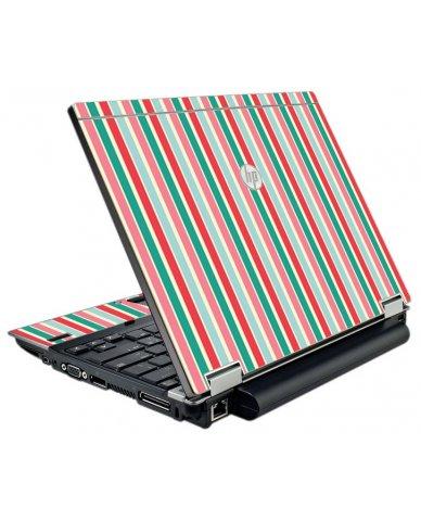 Gum Stripes HP EliteBook 2540P Laptop Skin