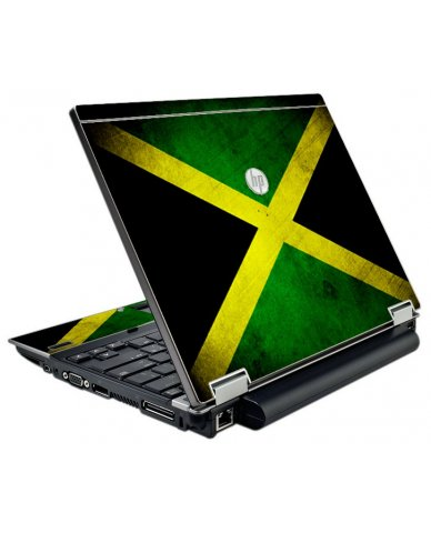 Jamaican Flag HP EliteBook 2540P Laptop Skin