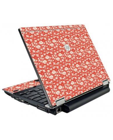 Pink Roses HP EliteBook 2540P Laptop Skin