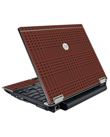 Red Flannel HP EliteBook 2540P Laptop Skin